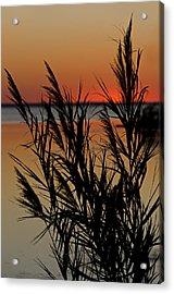 Whalehead Sunset Obx II Acrylic Print