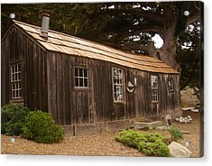 Whalers Cabin Acrylic Print by Barbara Snyder