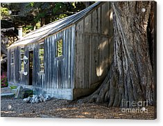 Acrylic Print featuring the photograph Whaler's Cabin by Vinnie Oakes
