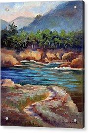 Whalers Cove Point Lobos Acrylic Print