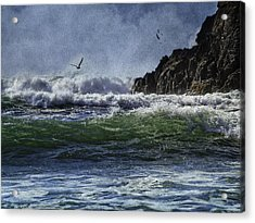 Whales Head Beach Southern Oregon Coast Acrylic Print