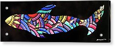 Whales Sf Acrylic Print