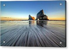Wharaiki Beach Acrylic Print