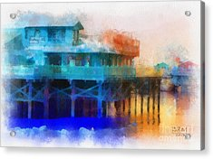 Wharf Color Acrylic Print