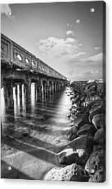 Wharf Acrylic Print