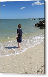 Acrylic Print featuring the photograph What Boys Are Made Of by Ella Kaye Dickey