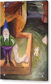 What Do You Gnome About Me Acrylic Print
