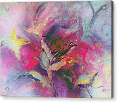 Acrylic Print featuring the painting What Do You See by Lisa Kaiser