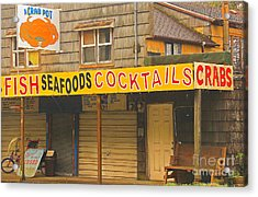 What Else Could You Want In Lincoln City Oregon Acrylic Print by Kris Hiemstra