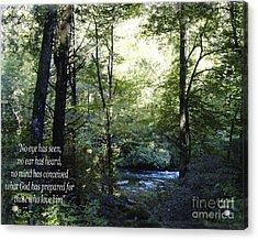 What God Prepares Acrylic Print