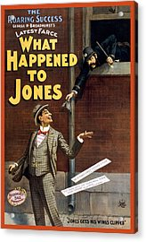 What Happened To Jones Acrylic Print by Aged Pixel