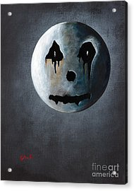 What It's Like Without You - Gothic By Shawna Erback Acrylic Print by Shawna Erback