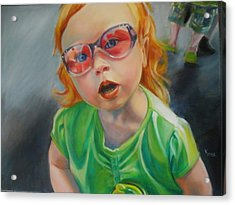 What Mama? Acrylic Print by Kaytee Esser