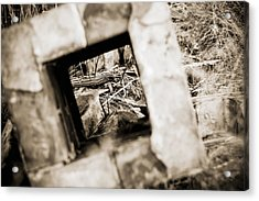 Acrylic Print featuring the photograph What Remains by Amber Kresge
