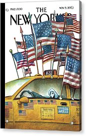 What So Proudly We Hailed Acrylic Print