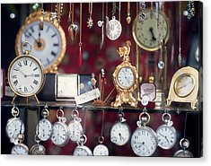 What Time Is It? Acrylic Print by Ira Shander