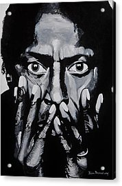 What Would Miles Say Acrylic Print by Brian Broadway