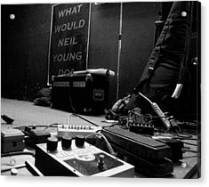 What Would Neil Young Do? Acrylic Print