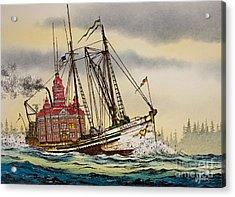 Whatcom Maritime Acrylic Print by James Williamson