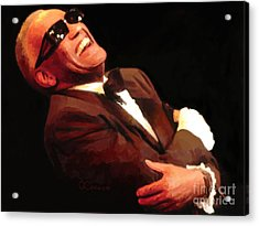 What'd I Say Acrylic Print by GCannon