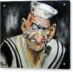 Whatever Happend To Popeye? Acrylic Print