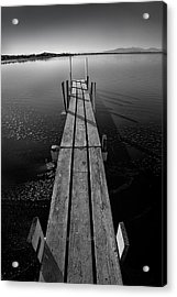 Whats Up Dock Acrylic Print by Peter Tellone