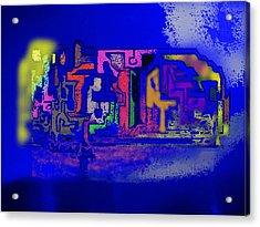 Whats Up Joe Acrylic Print by Gregory Steward