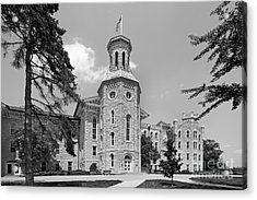 Wheaton College Blanchard Hall Acrylic Print by University Icons