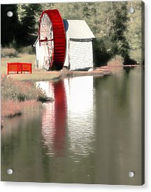 Wheel House Acrylic Print by Raymond Earley
