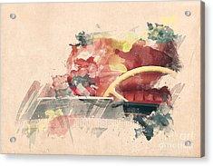 Wheel II. Acrylic Print by Martin Dzurjanik