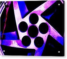 Wheel Of Color Acrylic Print