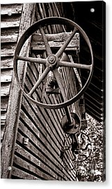 Wheel Of Labor  Acrylic Print by Olivier Le Queinec