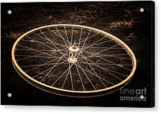 Wheel Acrylic Print by Sinisa Botas
