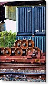 Wheel Stack II Acrylic Print