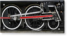 Wheels Of The Kingston Flyer Acrylic Print by Joe Bonita