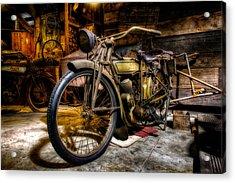 Wheels Through Time 7 Acrylic Print