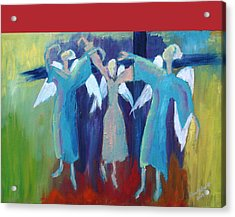 When Angels Dance Acrylic Print