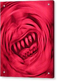 Acrylic Print featuring the photograph When Anxiety Attacks by John King