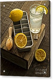 When Life Gives You Lemons... Acrylic Print by Edward Fielding