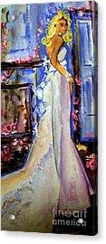When Lovely Women Acrylic Print by Helena Bebirian
