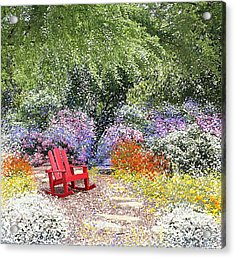 When May Comes Acrylic Print by Kume Bryant