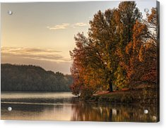 When Morning Arrives Acrylic Print by Jeff Burton