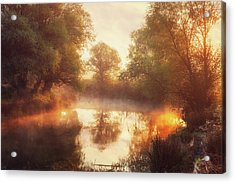When Nature Paints With Light II Acrylic Print