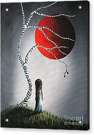 When She Thinks About You By Shawna Erback Acrylic Print by Shawna Erback