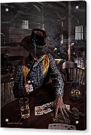 When Smoking In Bars Was Still Legal Acrylic Print