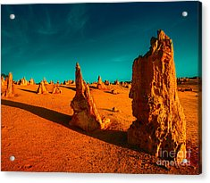 Acrylic Print featuring the photograph When The Day Is Done by Julian Cook