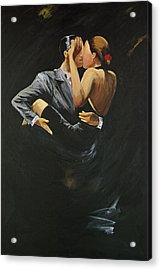 When We Tango Acrylic Print