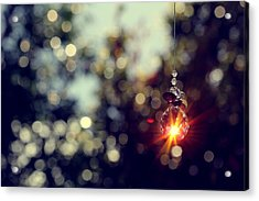 When Wishes Come True Acrylic Print by Beata  Czyzowska Young