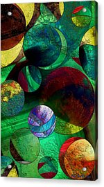 When Worlds Collide Acrylic Print by RC deWinter