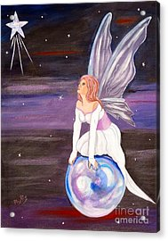 Acrylic Print featuring the painting When You Dream by Phyllis Kaltenbach